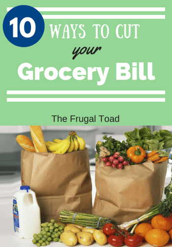 cut your grocery bill