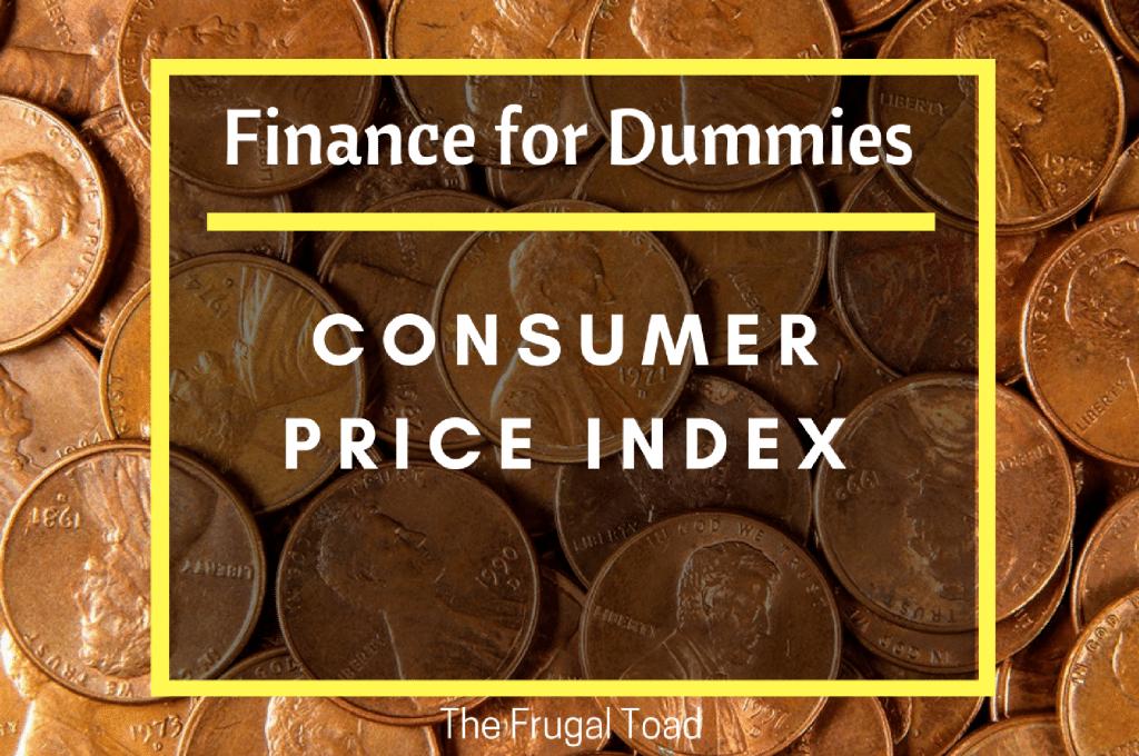 Finance for Dummies CPI