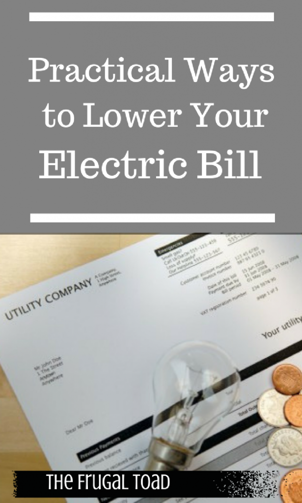 household electric bill