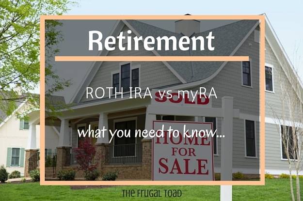 Roth IRA vs myRA