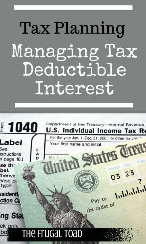 tax deductible interest
