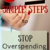 stop overspending