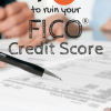 Top 4 Ways to ruin your FICO credit score