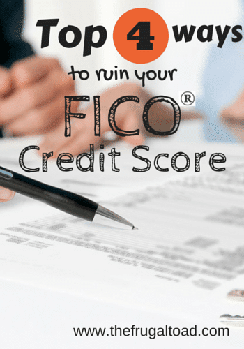 your FICO credit score