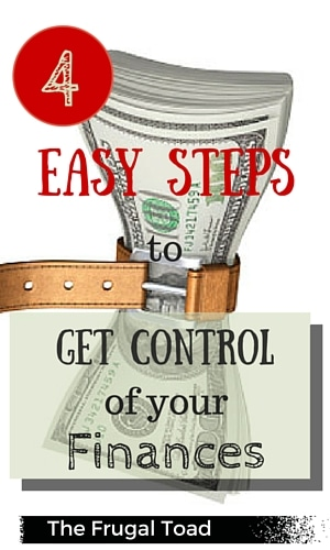 get control of your finances