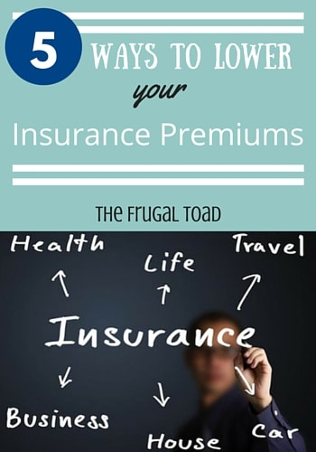 lower your insurance premiums