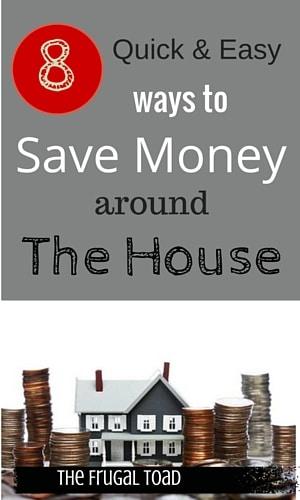 saving money around the house