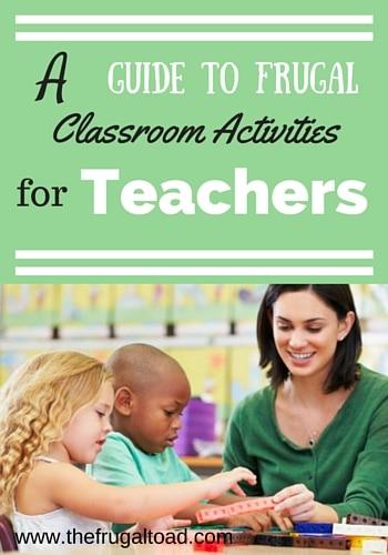 frugal classroom activities