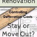 controlling renovation costs