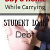 carrying student loan debt