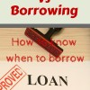 saving vs borrowing