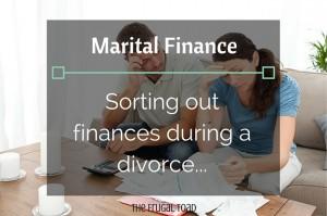 marital finance