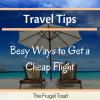 best ways to get a cheap flight