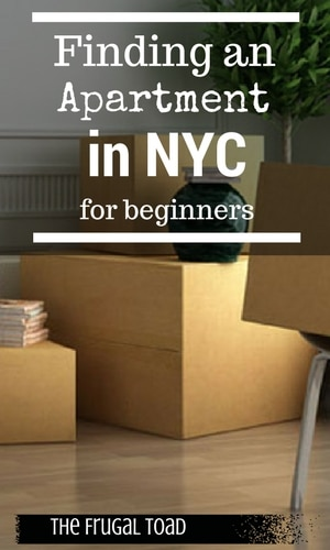 find an apartment in NYC