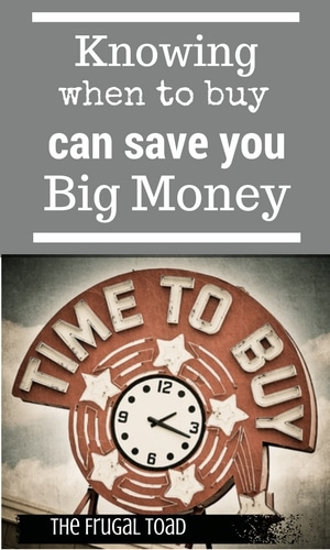 Knowing the Best Time to Buy Can Save You Big Money