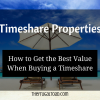 buying a timeshare property