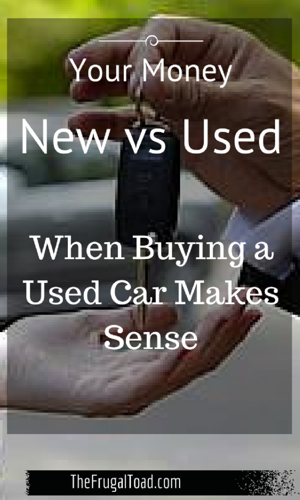 buying a used car is better