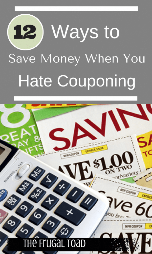 hate couponing