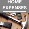 minimize home expenses