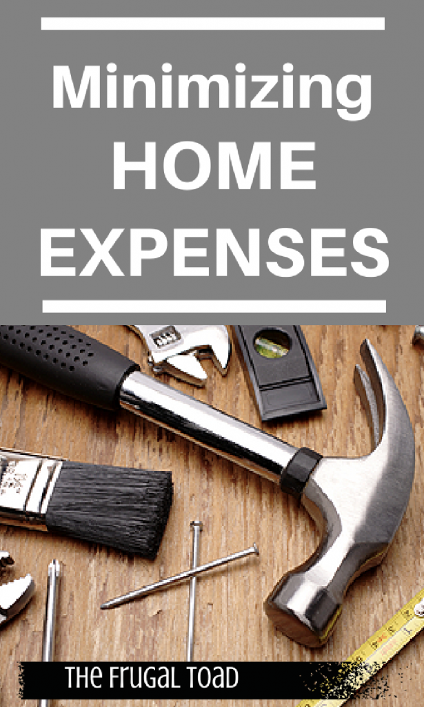 minimize home expenses