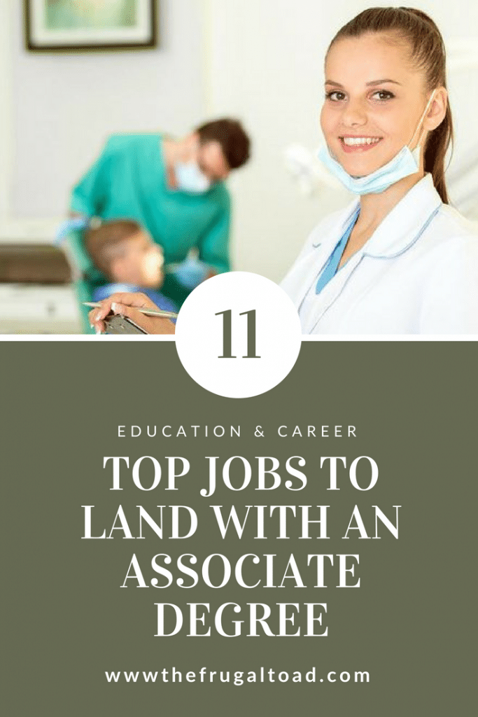 jobs you can land with an associate degree