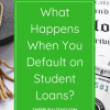 defaulting on student loans
