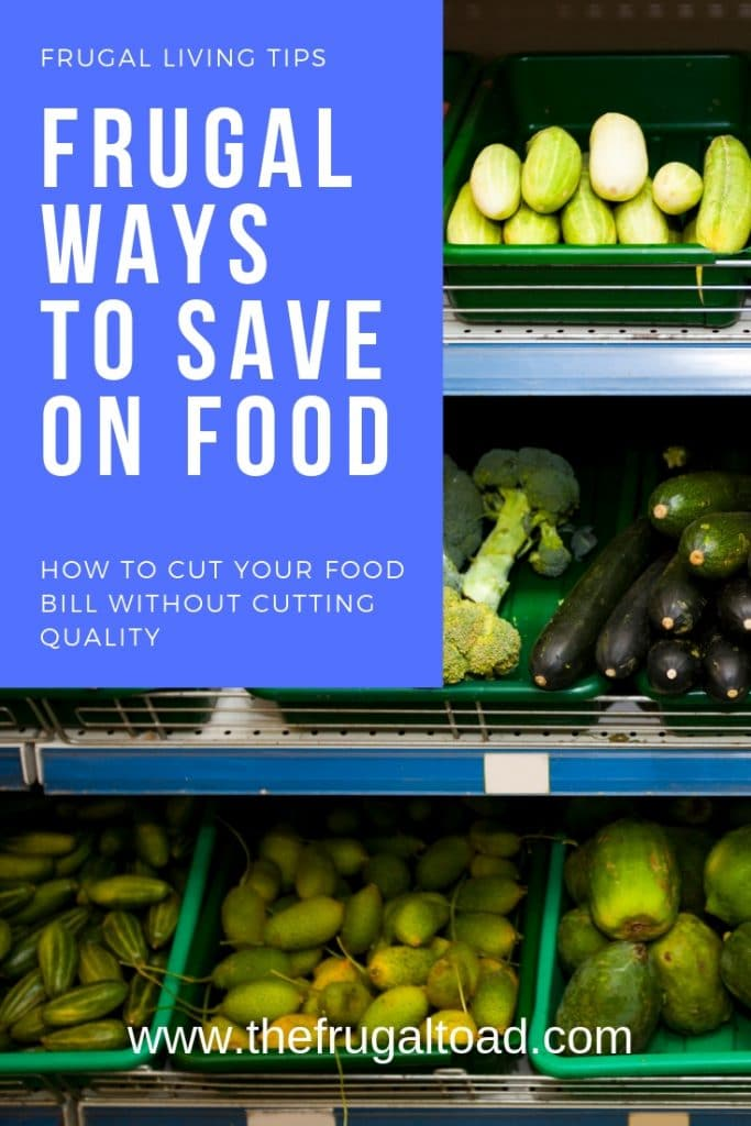 frugal ways to save on food