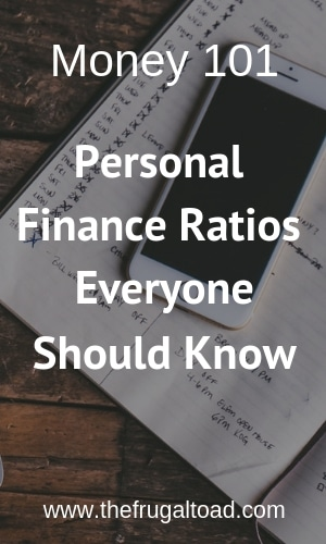personal financial ratios