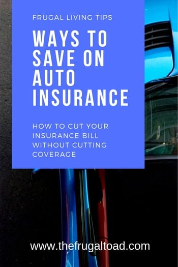 save money on your insurance
