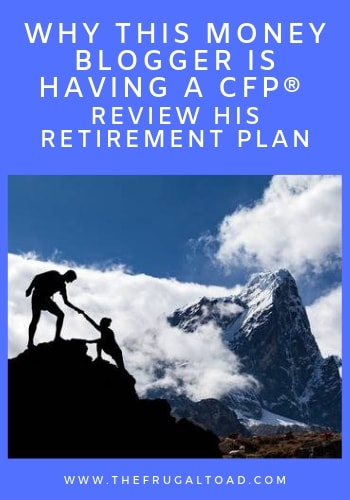 having a cfp review your retirement plan