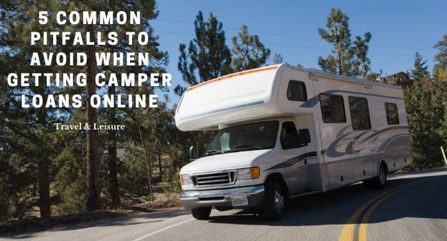 getting camper loans online
