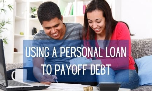 using a personal loan to payoff debt